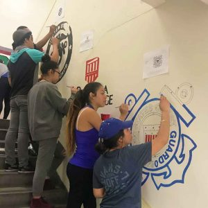 Free after school programs in Los Angeles, Fremont High beautification day