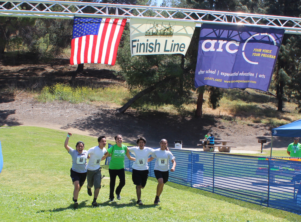 Teen Adventure Challenge - Finish Line